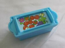 Fisher Price Little People APPLES FRUIT FLOWERS FOOD CRATE BIN for Ark Zoo Rare!