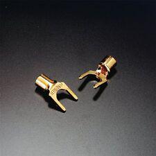 2 x Furutech FP-203G 203 (G) Kabelschuhe Spade connector vergoldet gold plated