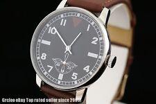 Pobeda Laco Military style vintage Soviet pilot's wrist watch