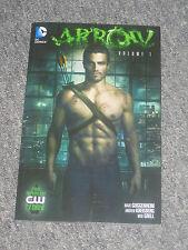 DC Comics ARROW Volume 1 TRADE PAPER BACK NEW Green Arrow CW TV Show