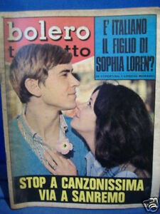 MORANDI BOLERO TELETUTTO 19 GENNAIO 1969 N°1133