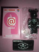 """Medicom Bearbrick Series 9 Artist """"Black Mastermind"""" Be@rbrick"""