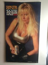 Coors Extra Gold Poster