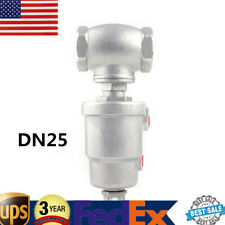 Stainless Steel T Type Pneumatic Actuated Angle Seat Valve Double Acting 304Ss