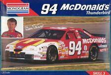 Monogram 1:24 #94 McDonald's Thunderbird Ford Bill Elliott Plastic Kit #85-2486U