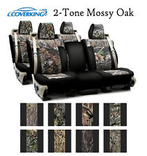 Coverking Custom Seat Covers Neosupreme Front Second Row - 2-Tone Mossy Oak Camo