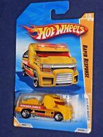 Hot Wheels 2010 New Models #18 Rapid Response Yellow w/ 5SPs