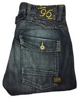 G-Star Raw Elwood Heritage Narrow Denim Jeans Sz W32 L30 Mens Blue