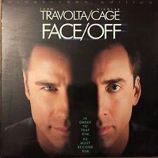 FACE/OFF WS THX AC3 CC NTSC LASERDISC JOHN TRAVOLTA-NICOLAS CAGE