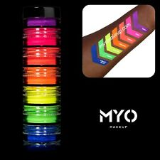 7 Stackable All Ultra Bright Matte Eyeshadow Pigments Makeup Cosmetics