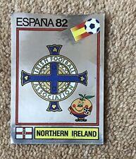 Panini Espana 82 Foil #328 Northern Ireland Foil Unused Excellent Condition
