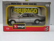 BURAGO 1.26   MERCEDES BENZ  500 SEC
