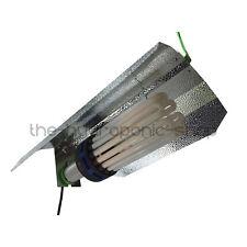 OMEGA CFL 300w Blue Spectrum Bulb Euro Shade Grow Light Kit Hydroponics