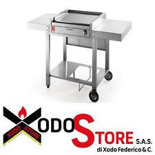 AIRONE barbecue a gas completamente inox carrello aperto SERIE 60 - BBQ sconto