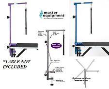 PRO Heavy Duty Pet FOLDABLE Adjustable ARM,CLAMP&LOOP for GROOMING GROOMER TABLE