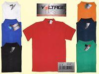 Herren Pique Poloshirt Polohemd Freizeit Shirt  HIGH VOLTAGE Farbe wählbar S- L