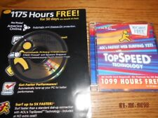 AOL 9.0 1099 Free Hours disk and 1175 hours disk Both from 2004. America Online