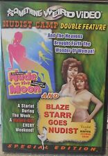 NUDE ON THE MOON / BLAZE STARR GOES NUDIST (DVD 2006) RARE SPECIAL EDITON NEW