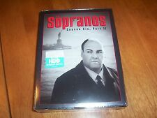 THE SOPRANOS SEASON SIX 6 PART II 2 DVDs 4 Disc HBO TV Mafia Show NEW DVD BOXSET