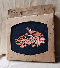New Bad Ass T-Shirt size LG from Attitude Jack Donkey on Bike