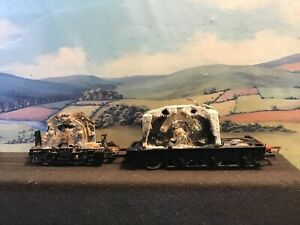 Hornby power bogies Class 25 & A1/3/4 heavily corroded. Non runners.