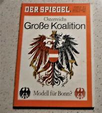 Der Spiegel 1.September 1965 #36 Östereichs Große Koalition Modell für Bonn ?