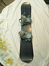 Rossignol Sublime Women's Snowboard 146cm With Bindings Snow Sports *BEAUTIFUL*