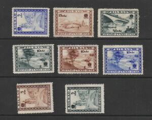Spain 1938 Bilbao , Civil war period ,8 stamps