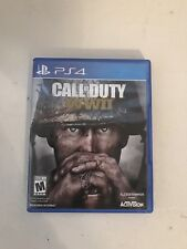 Call of Duty: WWII WW2 (Sony PlayStation 4, 2017) PS4 VERY GOOD CONDITION