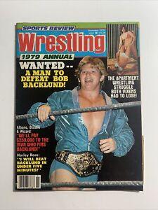 Sports Review Wrestling Magazine November 1979 Annual Apartment Wrestling Women