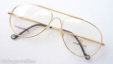 Vintage Klassiker Rodenstock Pilotenbrille gold Gestell Flexbügel groß Grösse L