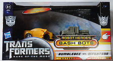 HASBRO® 28954 Transformers Dark of the moon Bash Bots Bumblebee vs. Megatron