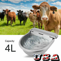 Automatic Water Stainless Steel Trough Horse Cow Dog Drink Sheep Auto Bowl New
