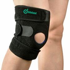 Knee Brace Open Patella Support Adjustable Elastic Sports Kneecap Protector 1pc