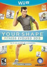 Your Shape: Fitness Evolved 2013 (Nintendo Wii U, Ubisoft) - Brand New/Sealed
