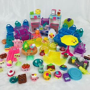 Shopkins Happy Places Furniture & Accessories Lot Food Outdoors Treats Ice Cream