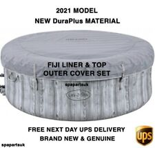 2021 Lay Z Spa Fiji Liner / Tub / Body & Top Lid Cover Set NO HEATER Lazy