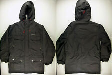 C383 DIDRIKSONS Storm System warm hooded parka jacket size XL, great cond!