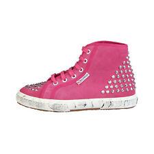 Zapatillas deportivas de mujer planos rosas, Talla 38