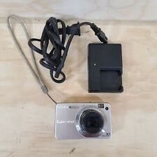 Sony Cyber-shot DSC-W150 8.1MP Digital Camera - Silver With Charger