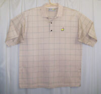 Augusta National Golf Shop Polo Shirt Men's XL Multi-Color The Masters Slazenger