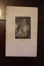 ✒ ca.1810 Gravure MYTHOLOGIE Moreau le jeune - Vénus et Adonis