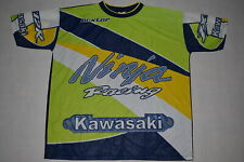 Kawasaki Ninja Racing T-Shirt Trikot Jersey Bike Race Motorsport Vintage 90er XL
