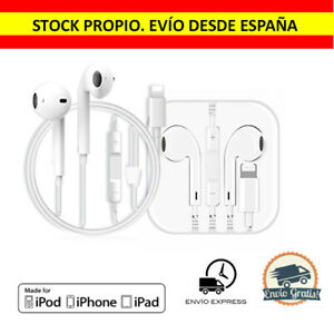 Auriculares Bluetooth Lightning con Micro Para iPhone 7 8 X 11 12 Xr Xs Pro Max