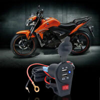 Waterproof Motorcycle Mobile Phone Dual USB Power Supply Port Socket Charger 3.1