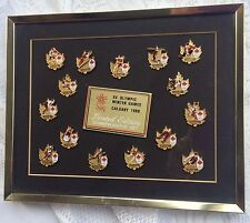 XV Olympic Winter Games Calgary 88 Commemorative Pin Set Canada Team Series 432