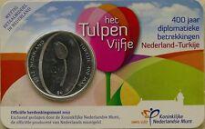 5 EURO PAYS-BAS 2012 UNC - 400 ANS DES RELATIONS DIPLOMATIQUES AVEC LA TURQUIE