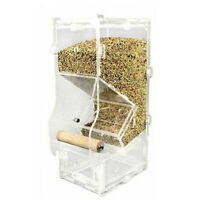 Seed No Mess Bird Feeder Parrot Toy Toys Canary Cockatiel Finch O6W4 Corral H9U2