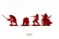 Limited! Minis3D -Rep. Heroquest - Remake F. Schizzo - Heroes: RED