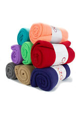 24 Pack of Polar Fleece Throw Blankets - 50 x 60 Assorted Colors Soft & Cozy